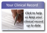 Update your clinical record